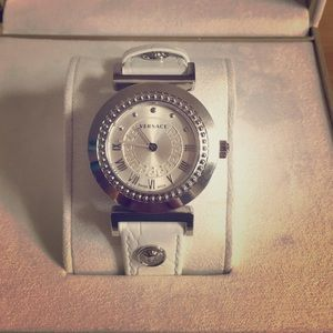 Versace Women's Watch with leather strap